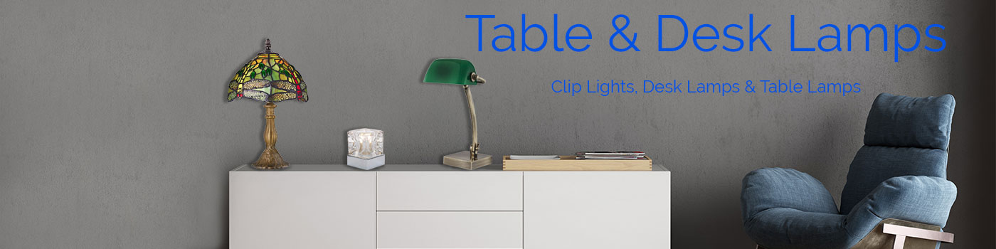 Table Lamps & Desk Lamps