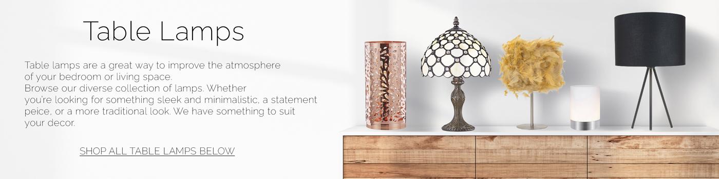 Table Lamps & Desk Lamps