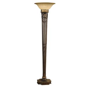 Firenze Gold 1lt Torchiere - 1 x 100W E27