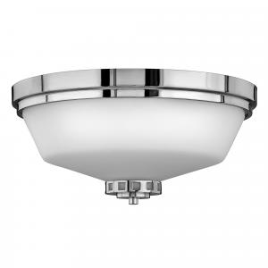 Polished Chrome Flush 3lt Bath - 3 x 60W E27