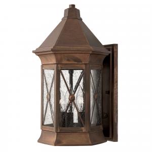 Sienna Medium Wall Lantern - 3 x 60W E14