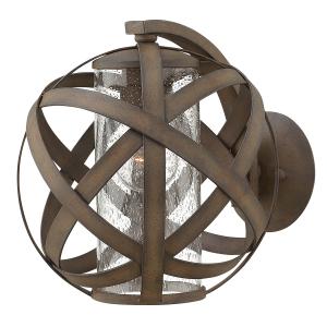 Vintage Iron Small Wall Lantern - 1 x 60W E27