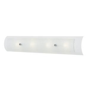 Polished Chrome 4lt Bathroom Wall Light - 4 x 3.5W LED G9