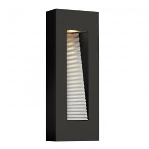 Satin Black LED Wall Light - 2 x 7W GU10 LED