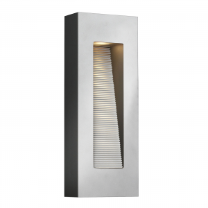Titanium LED Wall Light - 2 x 7W GU10 LED