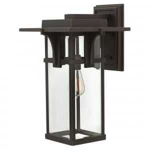 Oil Rubbed Bronze Large Wall Lantern - 1 x 100W E27