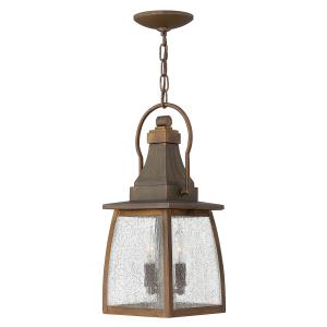 Sienna 2lt Chain Lantern - 2 x 60W E14