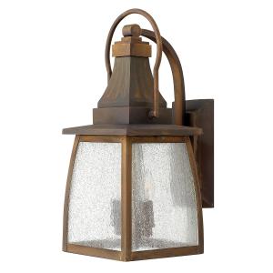 Sienna 2lt Small Wall Lantern - 2 x 60W E14