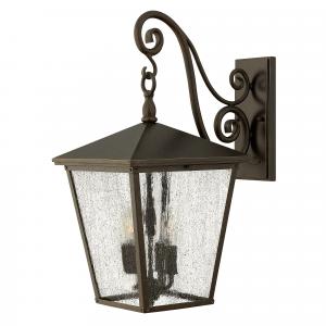 Regency Bronze Large Wall Lantern - 4 x 60W E14