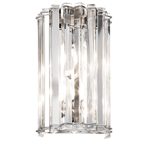 Chrome 2lt Wall Light - 2 x 3.5W G9
