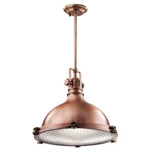 Antique Copper Large Pendant - 1 x 150W E27