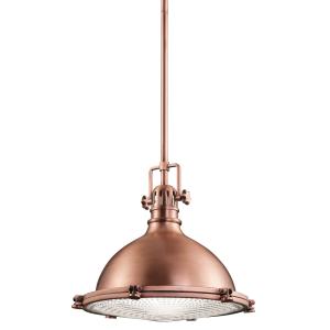 Antique Copper Medium Pendant - 1 x 150W E27