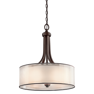 Mission Bronze Large Pendant - 4 x 100W E27