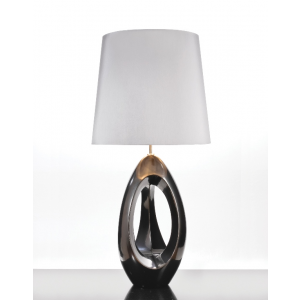 Spinnaker Pewter Table Lamp - 60W/20W LE E27