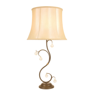 Bronze Patina Table Lamp Bronze - 1 x 60W E27
