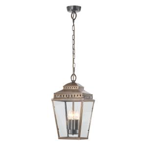 Brass Chain Lantern - 3 x 60W E14