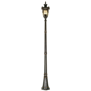 Old Bronze Lamp Post Large - 3 x 60W E27