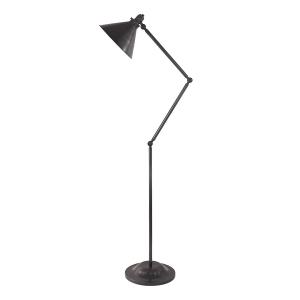 Old Bronze 1lt Floor Lamp - 1 x 100W E27
