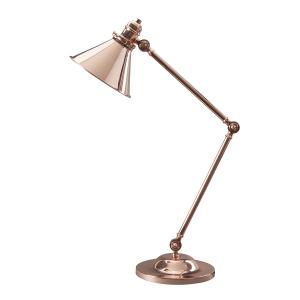Polished Copper Table Lamp - 1 x 60W E27