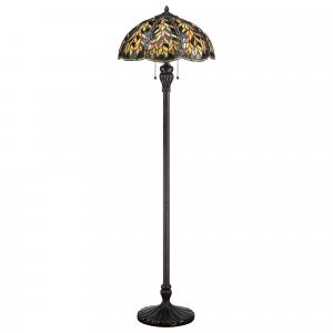 Imperial Bronze Floor Lamp - 2 x 100W E27