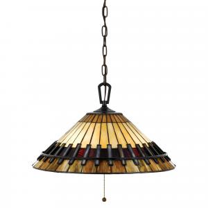 Vintage Bronze Pendant With 3 Lights - 3 x 60W E27