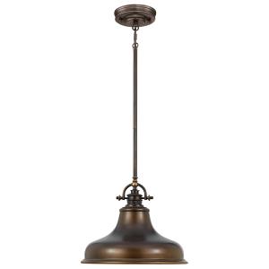 Palladian Bronze 1lt Medium Pendant - 1 x 100W E27