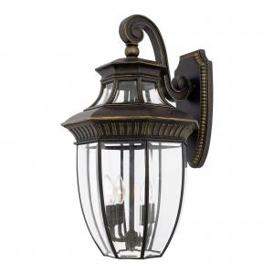 Imperial Bronze Large Wall Lantern - 4 x 60W E14