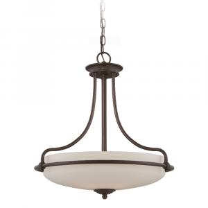 Palladian Bronze Pendant Light - 4 x 100W E27