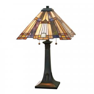 Valiant Bronze Table Lamp - 2 x 60W E27