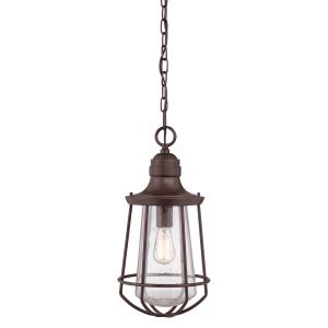 Western Bronze 1lt Large Chain Lantern - 1 x 60W E27