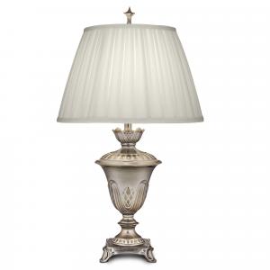 Milano Silver Table Lamp - 1 x 60W E27