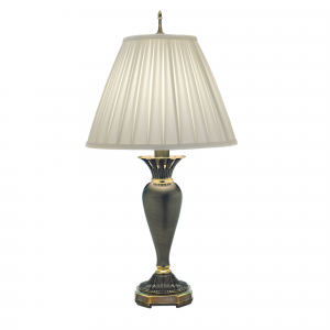 Roman Bronze Table Lamp - 1 x 60W E27