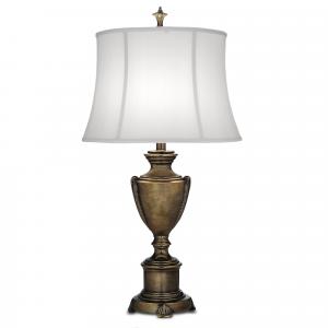 Smoked Umber Table Lamp - 1 x 60W E27
