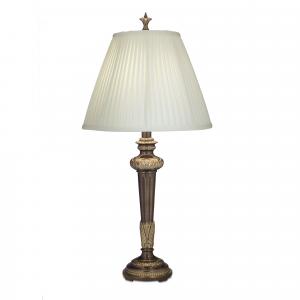 Roman Bronze Table Lamp - 1 x 60W E27