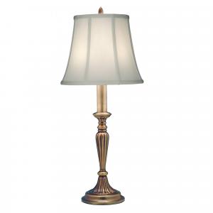 Antique Brass Buffet Lamp - 1 x 60W E27