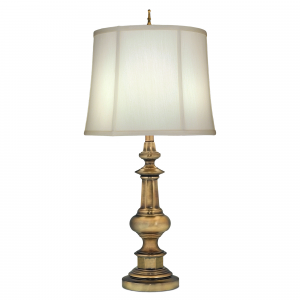 Antique Brass Table Lamp - 1 x 60W E27