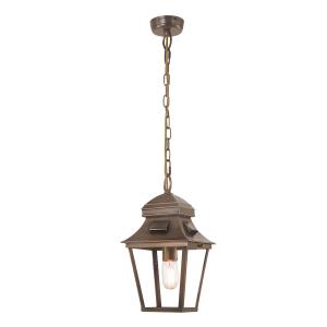 Brass Chain Lantern - 1 x 60W E27