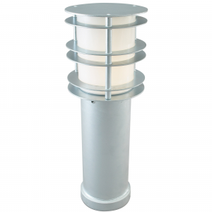 Galvanised Medium Bollard E27 - 1 x 60W E27
