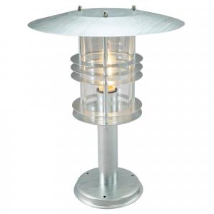 Galvanised Pedestal Grande - 1 x 100W E27