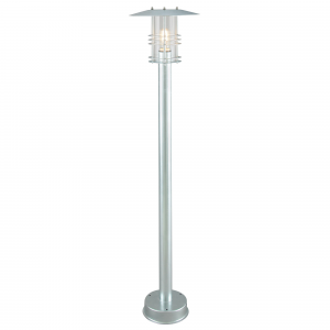 Galvanised Pillar - 1 x 60W E27