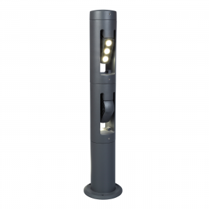 Graphite 730mm Post Spotlight - 18W LED