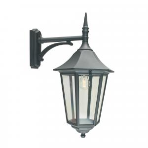 Black Down Lantern - 1 x 100W E27