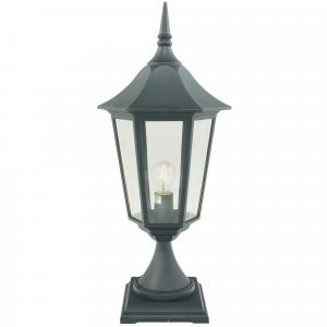 Black Pedestal - 1 x 100W E27