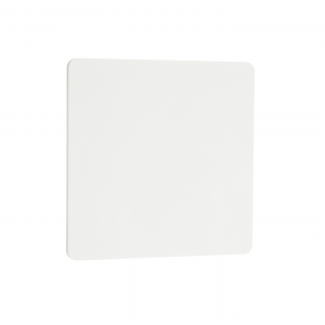 Textured Matt White Paint & Frosted Acrylic 1lt Wall 8W