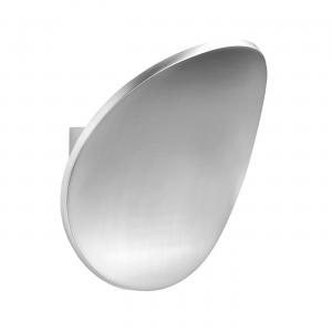 Polished Aluminium 1lt Wall 5W