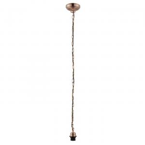 Antique Copper Effect Plate Chain 60W