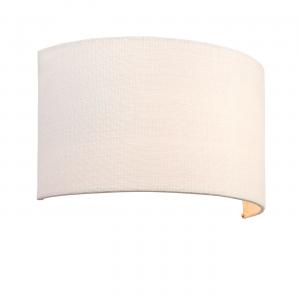 Vintage White Linen & Vintage White Polyester Cotton 1lt Wall 40W
