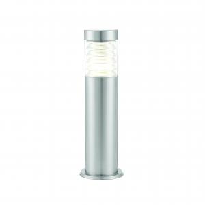 Marine Grade Brushed Stainless Steel & Clear Pc Post IP44 10W