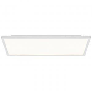 Gloss White & Opal Ps Plastic 450mm Rectangle Flush 20W
