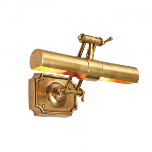 Wall Light - Solid mellow brass